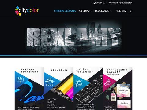 Agencja reklamowa Kielce drukarnia CityColor