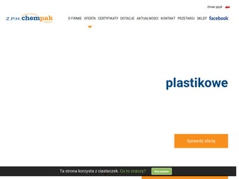 Chempakkutno.pl - nakrętki plastikowe