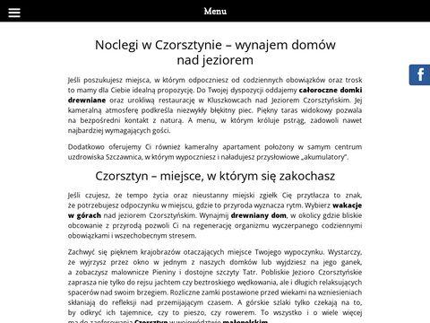 Chatki-qdlatki.pl domki drewniane małopolskie