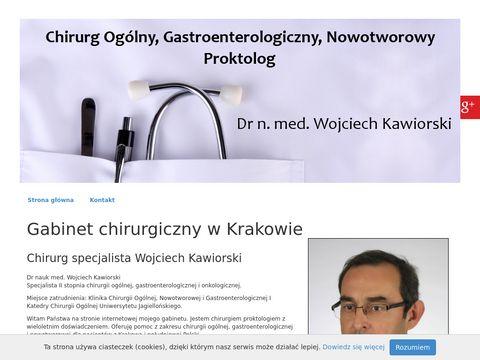Wojciech Kawiorski proktolog chirurgiakrakow.com.pl