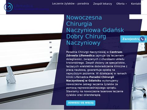 Chirurgianaczyniowagdansk.pl - poradnia Lifemedica