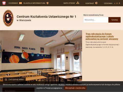 CKU NR 1 licea dla dorosłych Warszawa