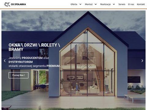 Ck-stolarka.pl parapety wewnętrzne i zewnętrzne