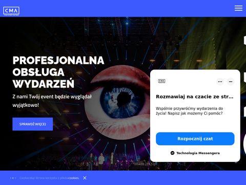 Firma eventowa | cma.pl
