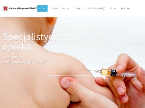 Cmpromed4kids.pl przychodnia