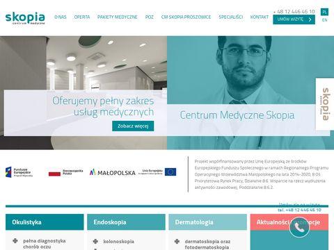 Cm-skopia.pl kolonoskopia - prywatnie i na NFZ