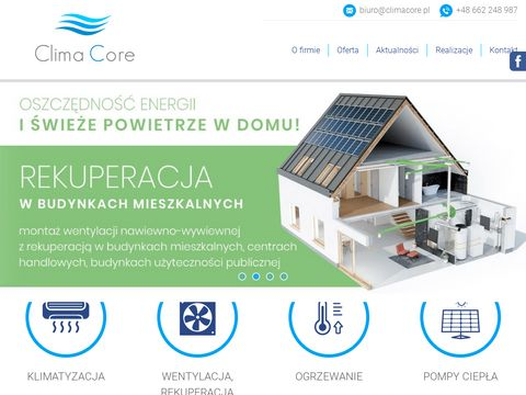 Climacore.pl klimatyzacja