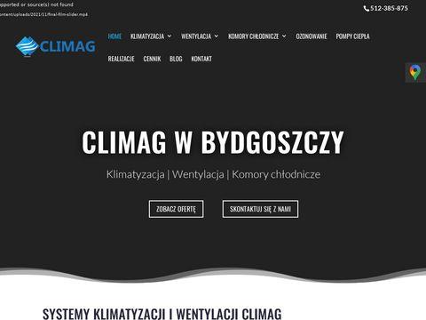 Climag naprawa klimatyzacji Bydgoszcz