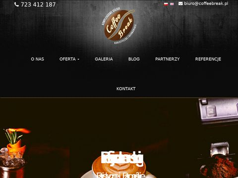Coffeebreak.pl usługi baristyczne i barmańskie