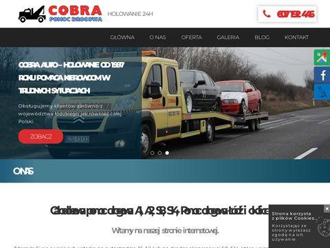 Cobrahol.go3.pl pomoc drogowa autostrada