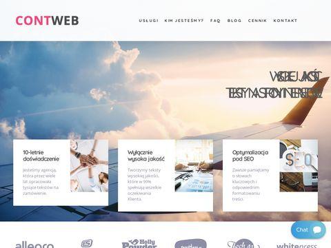 Contweb.pl pozycjonowanie stron Oława