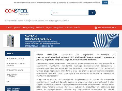 Consteel Elctronics elektronika przemysłowa