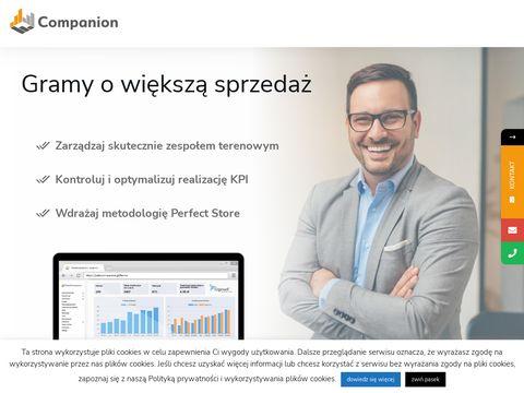 Companion.pl - mobilne systemy sprzedaży