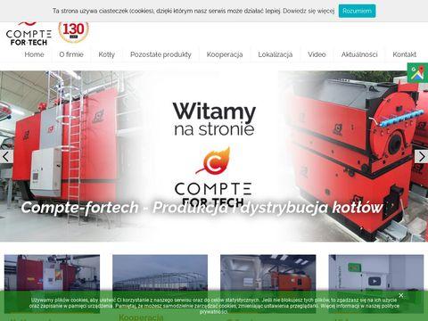 Compte-fortech.eu automatyczne kotły na biomasę