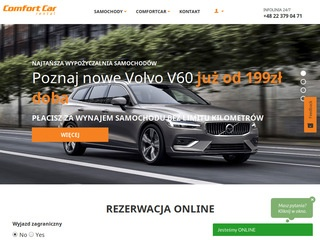 Comfortcar.pl rent a car warsaw
