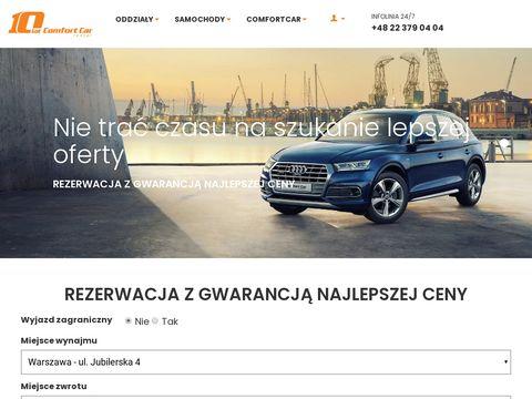 Comfortcar.pl rent a car warsaw