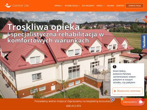 Comfortlife.com.pl dom opieki dla emerytów