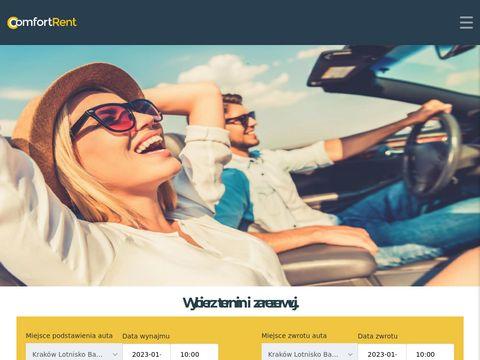 Comfortrent.com.pl - wypożyczalnia samochodów