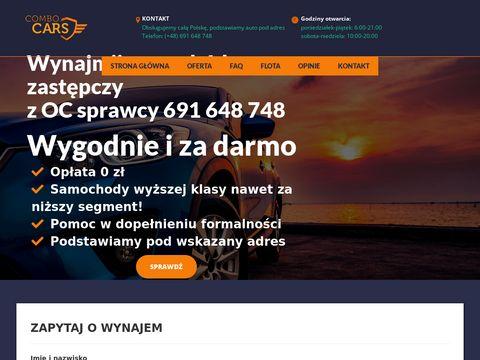 Combocars.pl auto z OC sprawcy kolizji