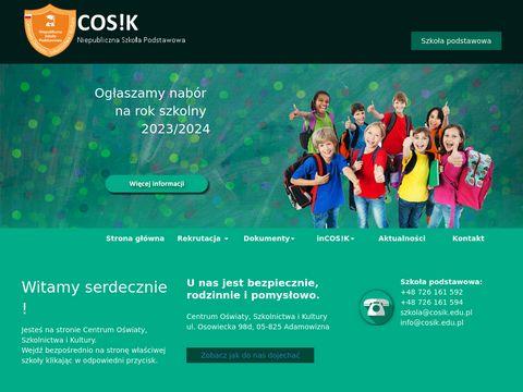 Cosik.edu.pl niepubliczna szkoła podstawowa