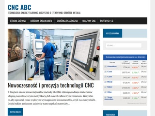 Cnc-abc.pl - technologia
