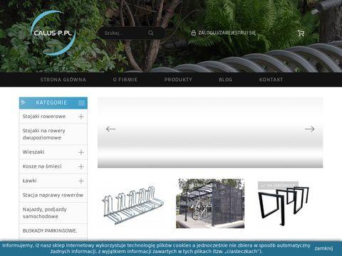 Calus-p.pl - stojaki na rowery