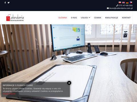 Calendaria.com.pl biuro księgowe Opole