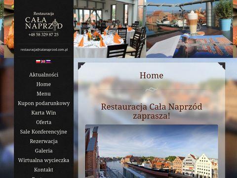 Calanaprzod.com.pl restauracja