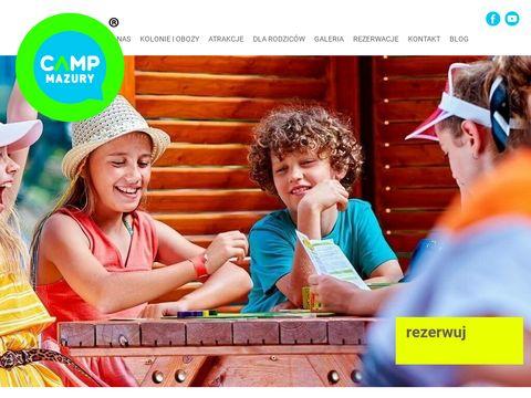 Campmazury.pl kolonie letnie dla dzieci