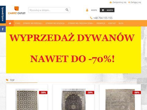 Carpetoutlet.pl tanie dywany