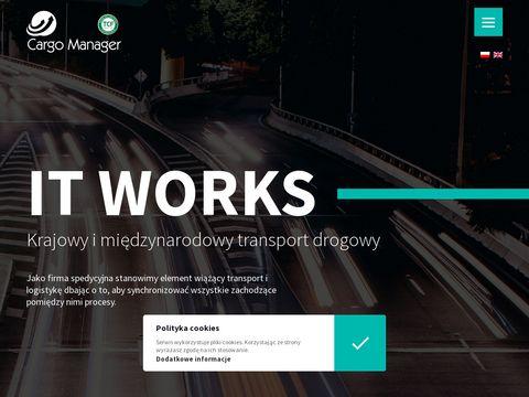 Cargomanager.pl międzynarodowy transport drogowy