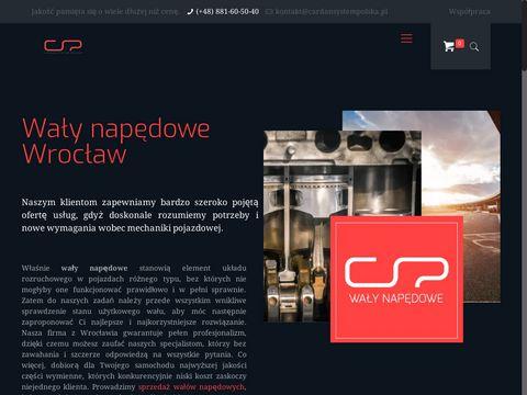 Cardansystempolska.pl producent wałów napędowych