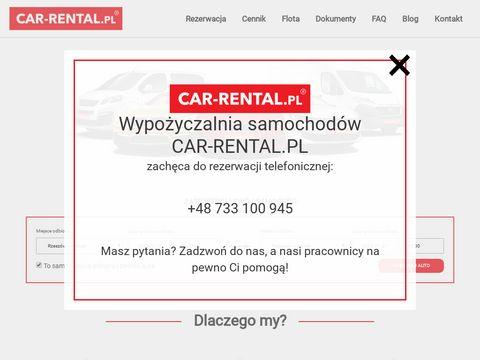 Wypożyczalnia aut - Car Rental Rzeszów
