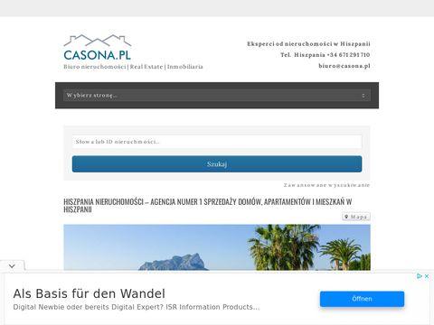 Casona.pl Torrevieja sprzedaż nieruchomości