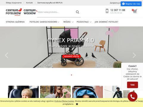 Centrumfotelikow.pl montowane tyłem