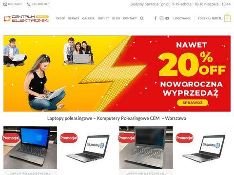 Centrumelektronikimobilnej.pl laptopy używane