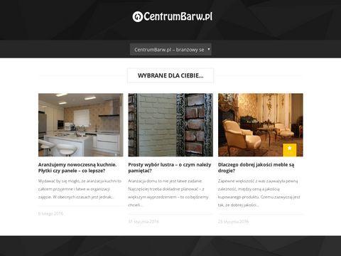 CentrumBarw.pl portal wnętrzarski