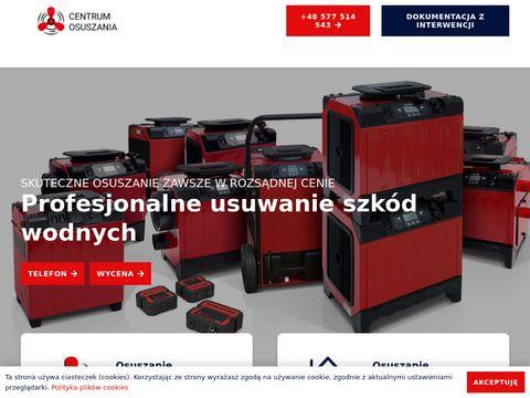 Centrumosuszania.pl - osuszanie Białystok