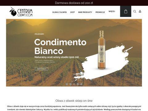 CentrumOliwy.com - sklep z oliwą z oliwek extravergine