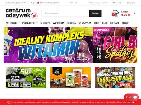 Centrumodzywek.net sprzęt sportowy