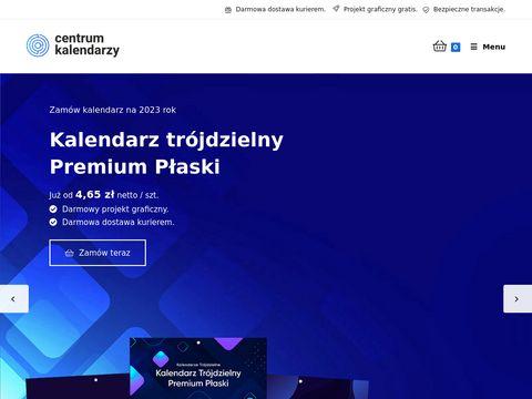 Kentrumkalendarzy.pl trójdzielny