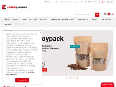 Centrumpakowania.com sklep z kartonami