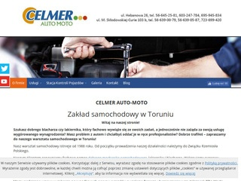 Auto Moto-Celmer mechanika pojazdowa Toruń