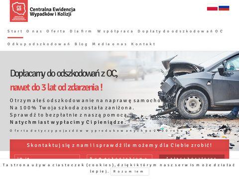 Cewik.pl dopłata do odszkodowania oc