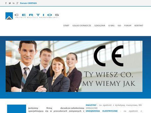 Certios centrum edukacji przedsiębiorcy normy ISO