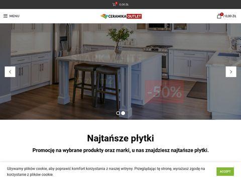 Ceramikaoutlet.pl Częstochowa płytki ścienne