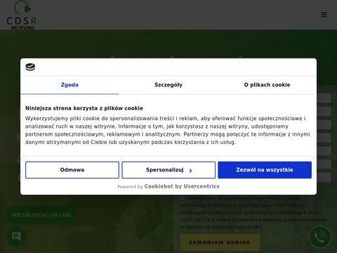 Cdsrecycling.pl transport odpadów przemysłowych