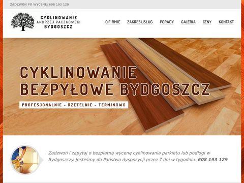 Cyklinowanie Bydgoszcz Andrzej Paszkowski