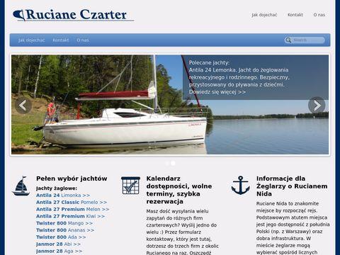 Czarter-Ruciane - czarter jachtów