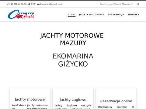 Czarter Jachtów, czarter jachtu na Mazurach